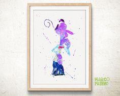 #artprint #poster #homedecor #roomdecor #wallart #watercolor #watercolorprint #gift #kids