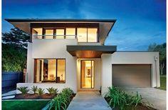 Es una casa moderna y lujosa con muy buen gusto.