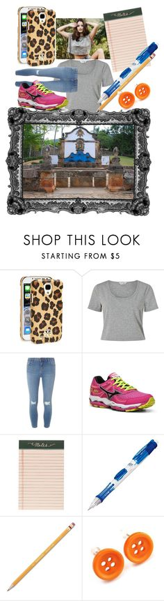 """pérola barroa"" by elisinhahalliwell on Polyvore featuring moda, Tory Burch, Miss Selfridge, Dorothy Perkins, Mizuno, Rifle Paper Co, Paper Mate e CO"