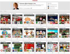 Pinterest boards for #preschool and #kindergarten teachers