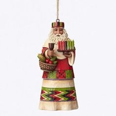 Jim Shore for Enesco Heartwood Creek African Santa Around the World