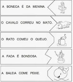 Psicopedagogia em Ação!: Alfabetização com quebra-cabeças! Portuguese Lessons, A30, Home Schooling, First Grade, Bullying, Literacy, Preschool, Language, Teaching