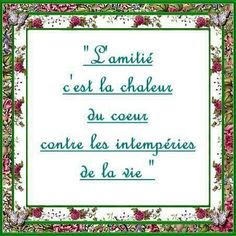 Amitié Message Positif, Friendship Love, French Quotes, Good Thoughts, Life Lessons, Texts, Love Quotes, Poems, Positivity