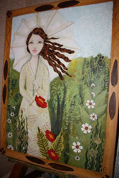 Heather Foust painting