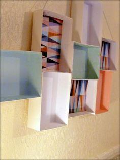 DIY : Recycler ses boîtes MyLittleBox en cadre 3D