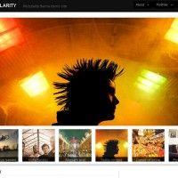 Modularity: a Wordpress portfolio theme