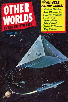 Other Worlds. Science Stories. June 1952 Cover Art. Malcolm Smith