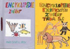 Encyklopedie zvířat - vděčný námět od 2. třídy pro tvorbu třídní knihy