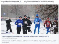 Pogoda malo zimowa ale to ....Juz jutro ! Warszawski Triathlon Zimowy:)