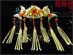 84.28$  Watch here - http://ailwg.worlditems.win/all/product.php?id=1569525387 - Dian Tan Chun Classical agate beading  bride hair jewelry handmade hair accessories full set