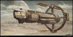Spaceship Art, Spaceship Design, Space Fantasy, Sci Fi Fantasy, Stargate, Concept Ships, Concept Art, Cyberpunk, Science Fiction Kunst