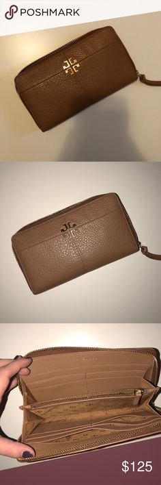 Tory Burch Ivy Zip Continental Wallet This wallet is in excellent used condition! Tory Burch Bags Wallets