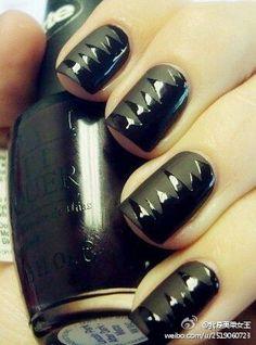 Noir brillant/mat