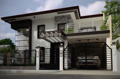 design exterior philippines This modern house is located in Philippines and offers a spectacular blend of lu. This modern house is located in Philippines and offers a spectacular blend of luxurious home interiors and gorgeous outdoor living. Modern Zen House, Modern Bungalow House, Modern House Plans, Modern House Design, Modern Living, Modern House Philippines, Philippine Houses, 2 Storey House Design, Minimalist House Design
