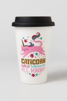 Caticorn All Magic Travel Mug