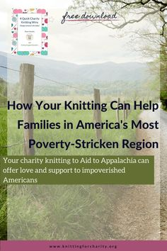 Your charity knitting to Aid to Appalachia can offer love and support to impoverished Americans ... Read More about  How Your Knitting Can Help Families in America's Most Poverty-Stricken Region - Knitting for Charity