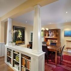 Whole-house remodel, Chevy Chase, MD - traditional - dining room - dc metro - by CARNEMARK Home Renovation, Home Remodeling, Load Bearing Wall, Kate Spade, Living Room Remodel, Kitchen Remodel, Bath Remodel, Home Design, Wall Design