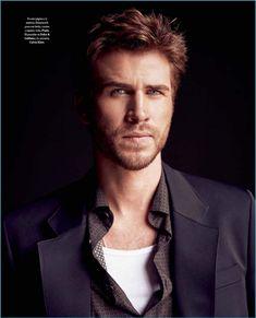 Liam Hemsworth pictured in Prada, Dolce & Gabbana, and Calvin Klein for Icon…