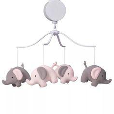 Bedtime Originals 206018 Eloise Musical Baby Crib Mobile for sale online Baby Crib Bedding Sets, Baby Cribs, Crib Sets, Musical Mobile, Baby Dino, Grey Elephant, Elephant Nursery, Giraffe, Baby Crib Mobile