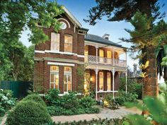 Photo of a brick house exterior from the realestate.com.au Home Ideas Facades image galleries - House Facade photo 587065. Browse hundreds of brick facade designs from Australian homes on Home Ideas.