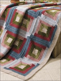 Log Cabin LW1424 | Free Patterns | Yarn