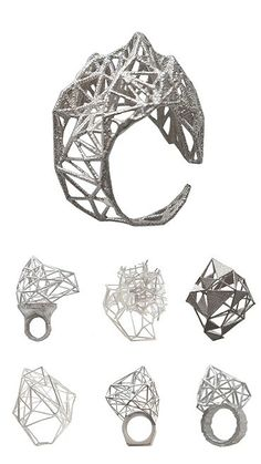 TheCarrotbox.com modern jewellery blog : obsessed with rings // feed your fingers!: Lotocoho / Monaka / Gittee Soee