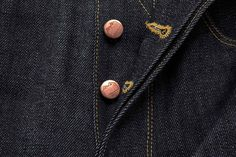 Logo design by StudioSmall for premium selvedge and organic raw denim jeans brand Blackhorse Lane Ateliers.