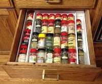 In Drawer Spice Rack – Product Review - Living Simply