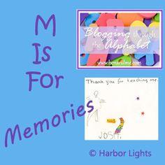 Memories #alphabet #memories #homeschool