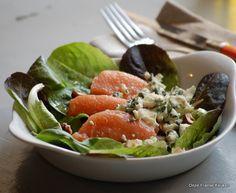 Salade met kweepeer