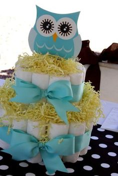 """Photo 1 of 17: Owls / Baby Shower/Sip & See """"Look Whooo's having a Baby!""""   Catch My Party I freaking LOVE this. Totally love and would like for my shower one day."""