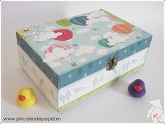 Caja de recuerdos bebé