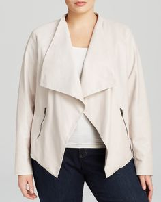 BB Dakota Plus Saidi Faux Leather Jacket | Bloomingdale's