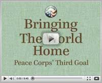 Telling the world about your Peace Corps experience -> invite a Peace Corps volunteer to speak at your community event!
