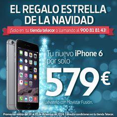 ¡Ofertón en Telecor! El regalo estrella de la #Navidad, el #Iphone6 por 579€ #mobile #shopping
