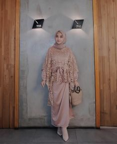 @nisacookie Kebaya Modern Hijab, Kebaya Hijab, Kebaya Dress, Kebaya Muslim, Muslim Dress, Dress Brukat, Hijab Dress Party, Hijab Wedding Dresses, Muslim Fashion
