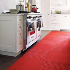Kitchen carpeting from Flor?
