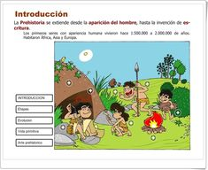 """""""La Prehistoria"""" (Aplicación interactiva de Ciencias Sociales de Primaria)"""