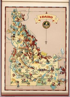 Idaho. - David Rumsey Historical Map Collection