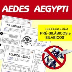 Código 548 Aedes Aegypti - para pré-silábicos e silábicos