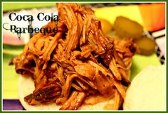 Sweet Tea and Cornbread: Slow Cooker Pulled Pork in a Coca Cola Barbeque Sauce!
