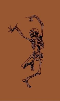 Dancing skeleton - - Oktoberfest - - One Free Fall Wallpaper, Halloween Wallpaper Iphone, Halloween Backgrounds, Cute Wallpaper Backgrounds, Aesthetic Iphone Wallpaper, Cartoon Wallpaper, Aesthetic Wallpapers, November Wallpaper, Screen Wallpaper