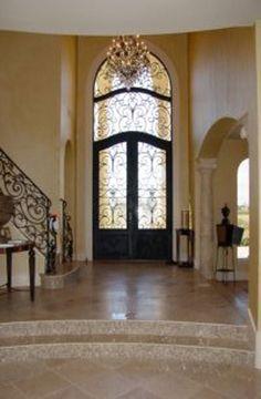 Front doors from Mediterranean Style Custom Home Builder | Avida Custom Homes | Style Gallery