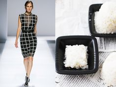 Sportmax ss 2013 / Warm rice and coconut bites