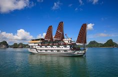 Book #HalongTours for a truly memorable experience as you cruise this delightful Bay, revelling in its tranquillity as you escape the bustling tourist sites. Book here @ http://www.welcomevietnamtours.vn/tours/du-thuyen/halong-cruises/223.html