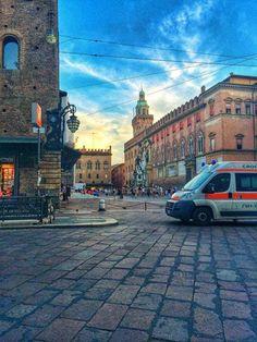 Bologna, Piazza Nettuno, foto di Maria Giulia Augugliaro