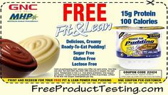Fit and Lean Power Pak Pudding at GNC
