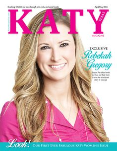 Boston Marathon bombing survivor and Katyite Rebekah Gregory shares her story of hope and recovery in the April-May Issue of Katy Magazine!
