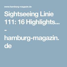 Sightseeing Linie 111: 16 Highlights... - hamburg-magazin.de
