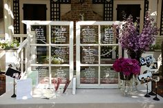 Trendy ideas for diy wedding seating plan old windows Wedding Window, Wedding Guest Book, Diy Wedding, Wedding Reception, Wedding Ideas, Trendy Wedding, Wedding Shoes, Wedding Hair, Indoor Wedding